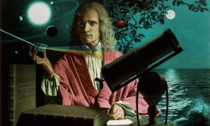 Sir Isaac Newton by Jean-Leon Huens